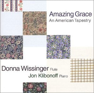 Donna Wissinger & Jon Klibonoff - Amazing Grace, An American Tapestry-CDs-Palm Beach Bookery