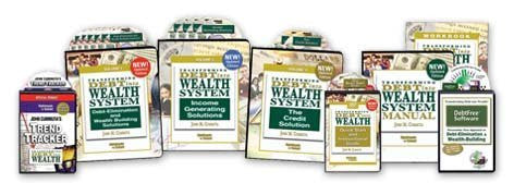 Transforming Debt Into Wealth SYSTEM 8 Piece Set-Book-Palm Beach Bookery