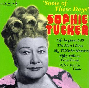 Sophie Tucker - Some of These Days-CDs-Palm Beach Bookery