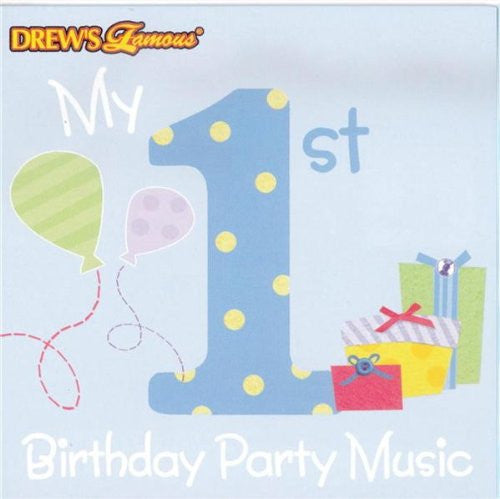 Various Artists - Drew's Famous (Boys) 1st Birthday Party Music-CDs-Palm Beach Bookery
