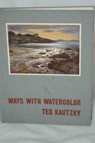 WAYS WITH WATERCOLOR - Second Printing 1953-Book-Palm Beach Bookery
