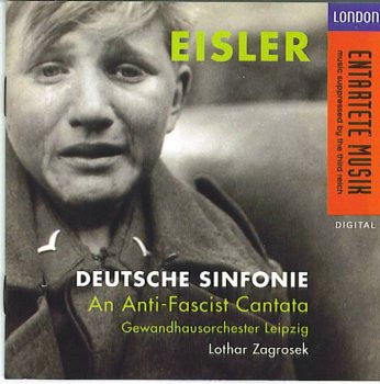 Hanns Eisler - Deutsche Sinfonie (German)-CDs-Palm Beach Bookery