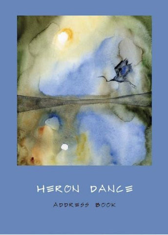 Heron Dance Address Book-Book-Palm Beach Bookery