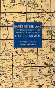 Names On The Land - A Historical Account Of Place-naming In The United States-Book-Palm Beach Bookery