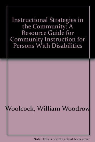 Instructional Strategies in the Community: A Resource Guide for Community Instruction-Book-Palm Beach Bookery