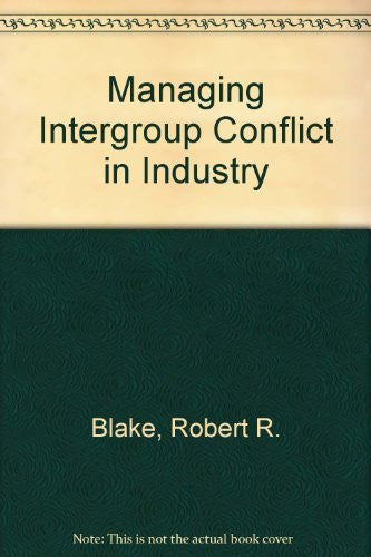 Managing Intergroup Conflict in Industry-Book-Palm Beach Bookery