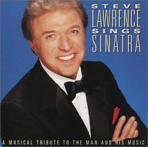 Steve Lawrence - Steve Lawrence Sings Sinatra-CDs-Palm Beach Bookery