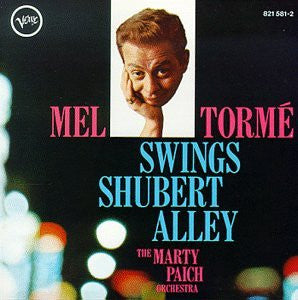 Mel Torme - Swings Shubert Alley-CDs-Palm Beach Bookery