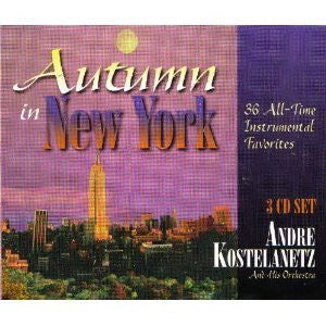 Andre Kostelanetz - Autumn In New York-CDs-Palm Beach Bookery
