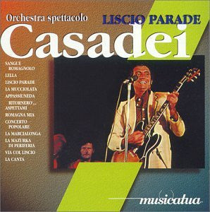 Liscio Parade - Casadei (Orchestra Spettcolo)-CDs-Palm Beach Bookery