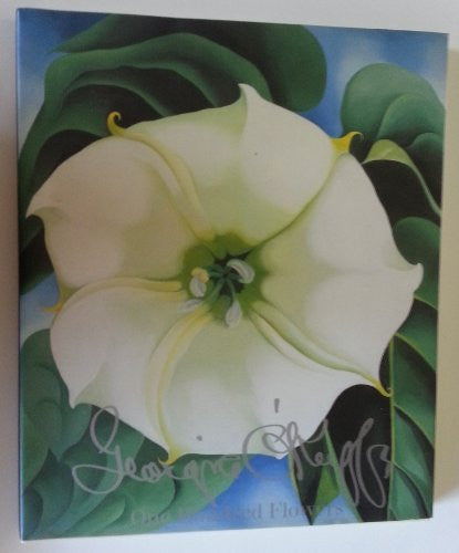 One Hundred Flowers Georgia O'Keeffe 100-Book-Palm Beach Bookery