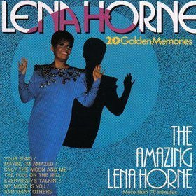 Lena Horne - The Amazing Lena Horne/20 Golden Memories-CDs-Palm Beach Bookery