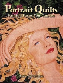 Portrait Quilts: Painted Faces You Can Do-Book-Palm Beach Bookery