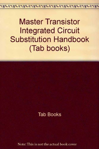 Master Transistor/IC Substitution Handbook-Book-Palm Beach Bookery