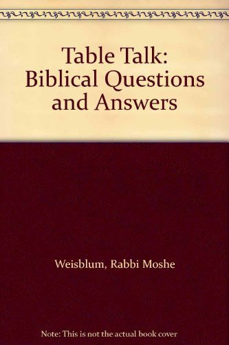 Table Talk: Biblical Questions and Answers-Book-Palm Beach Bookery