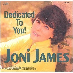 Joni James - Dedicated To You!-CDs-Palm Beach Bookery