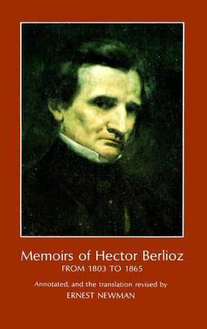 Memoirs of Hector Berlioz from 1803 to 1865-Book-Palm Beach Bookery