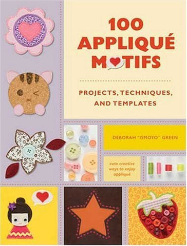 100 Applique Motifs - By: Deborah Green-Books-Palm Beach Bookery