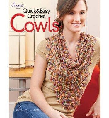 Quick & Easy Crochet Cowls (Annie's Crochet) (Paperback) - Common-Book-Palm Beach Bookery