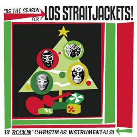 Los Straitjackets - Tis the Season for Los Straitjackets-CDs-Palm Beach Bookery