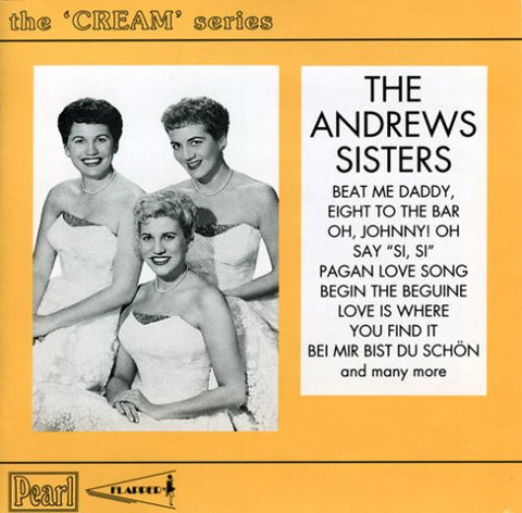 Andrews Sisters - The Cream Series-CDs-Palm Beach Bookery