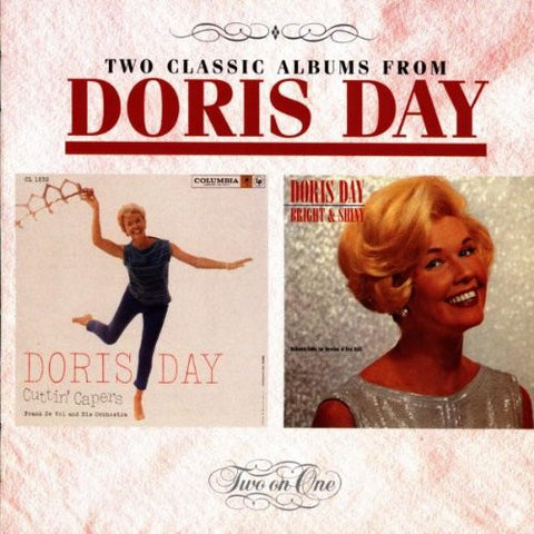 Doris Day - Cuttin Capers/ Bright and Shiny-CDs-Palm Beach Bookery