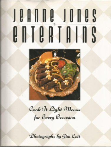 Jean Jones Entertains, Cook it Light Menus for Every Occasion-Book-Palm Beach Bookery