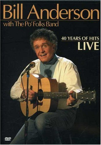 Bill Anderson: 40 Years of Hits, Live-DVD-Palm Beach Bookery