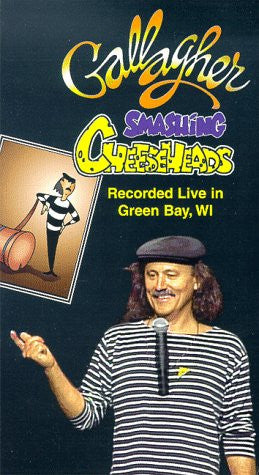 Gallagher: Smashing Cheeseheads [VHS] - Palm Beach Bookery
