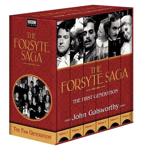 The Forsyte Saga - First Generation [VHS]-Video-Palm Beach Bookery