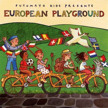 Putumayo Kids - European Playground-CDs-Palm Beach Bookery
