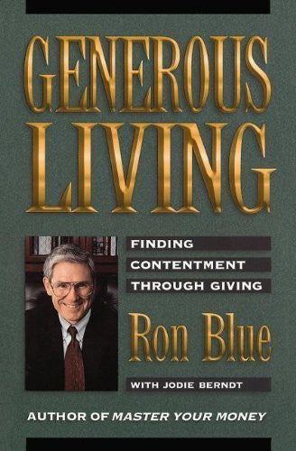 GENEROUS LIVING (Finding Contentment Through Giving)-Book-Palm Beach Bookery