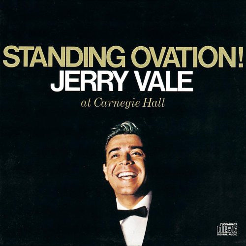Jerry Vale - Standing Ovation-CDs-Palm Beach Bookery