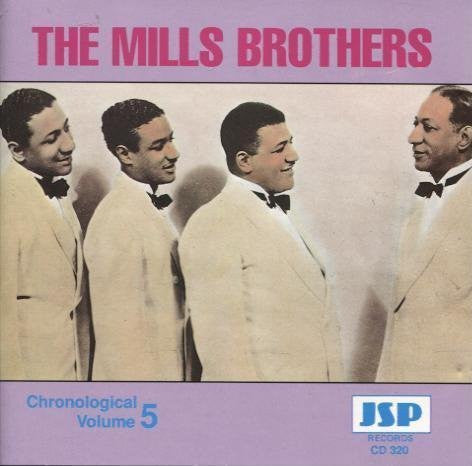 Mills Brothers - Chronological Vol. 5-CDs-Palm Beach Bookery
