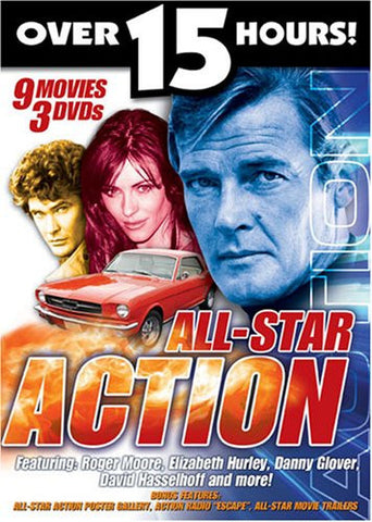 All Star Action (DVD - 9 Movies) - By Various Artists-DVD-Palm Beach Bookery