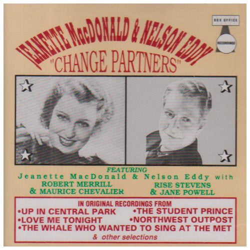 Jeanette MacDonald - Nelson Eddy - Change Partners-CDs-Palm Beach Bookery