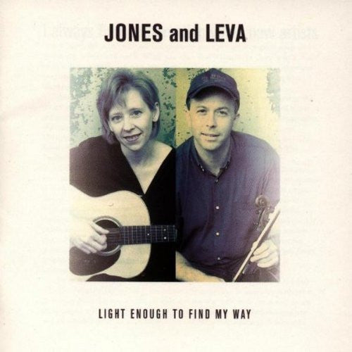 Jones and Leva - Light Enough to Find My Way-CDs-Palm Beach Bookery