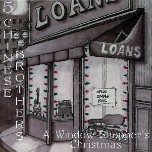5 Chinese Brothers - A Window Shopper's Christmas-CDs-Palm Beach Bookery