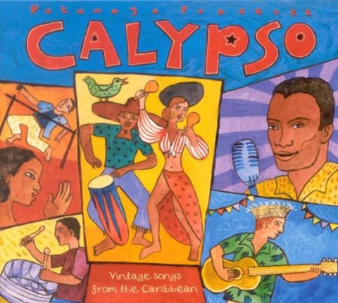 Various Artists - Calypso: Vintage Songs From the Caribbean-CDs-Palm Beach Bookery