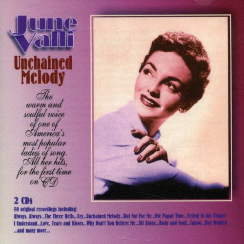 June Valli - Unchained Melody - 50 Original Recordings-CDs-Palm Beach Bookery