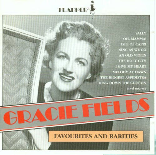 Gracie Fields - Favourites and Rarities-CDs-Palm Beach Bookery