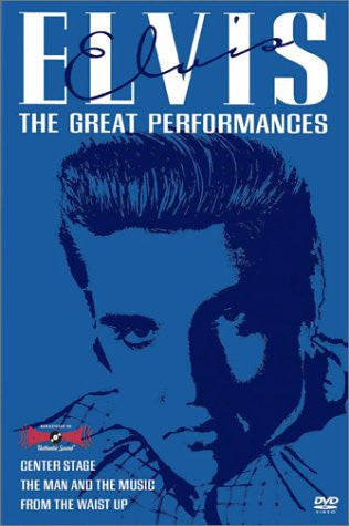 Elvis - The Great Performances Boxed Set [VHS] - Palm Beach Bookery