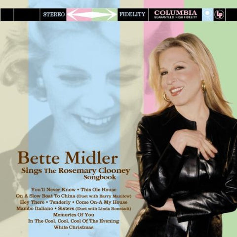 Bette Midler - Sings The Rosemary Clooney Songbook-CDs-Palm Beach Bookery