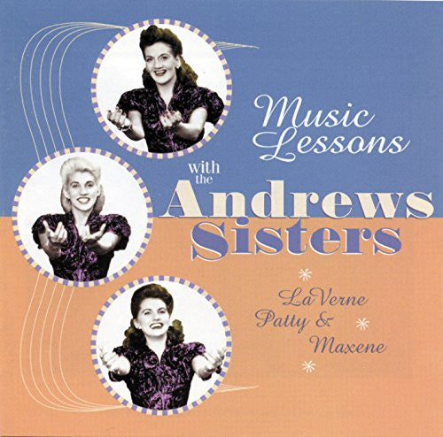 Andrews Sisters - Music Lessons With The Andrews Sisters-CDs-Palm Beach Bookery