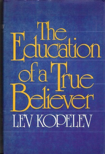 Education of a True Believer-Book-Palm Beach Bookery