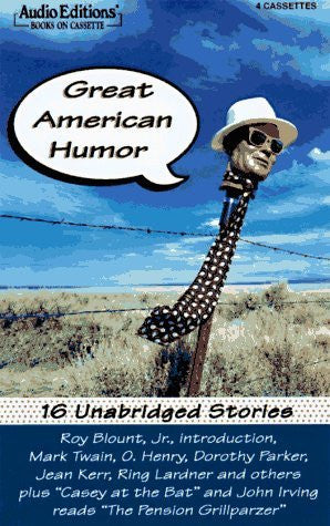 Great American Humor: 16 Stories-Audio Books-Palm Beach Bookery