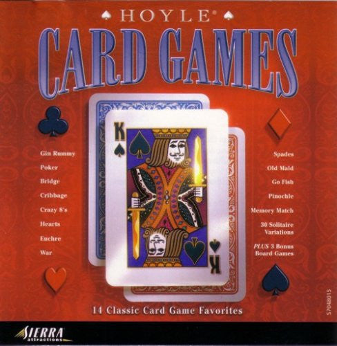 Hoyle - Card Games 1999-CDs-Palm Beach Bookery