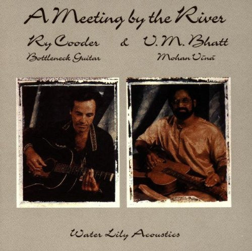 Ry Cooder, Vishwa Mohan Bhatt - A Meeting by the River-CDs-Palm Beach Bookery
