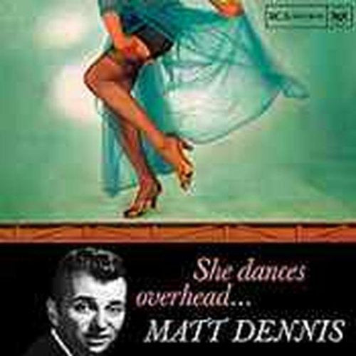 Matt Dennis - She Dances Overhead-CDs-Palm Beach Bookery