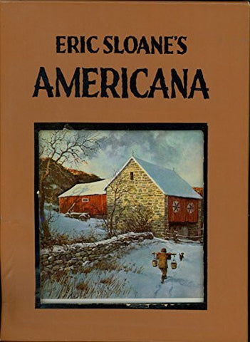 Eric Sloane's Americana: American Barns and Covered Bridges; Our Vanishing Landscape; American Yesterday (3 volume set)-Book-Palm Beach Bookery